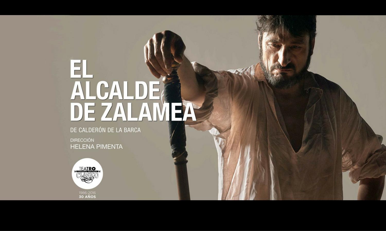 El alcade de Zalamea Carmelo Gómez