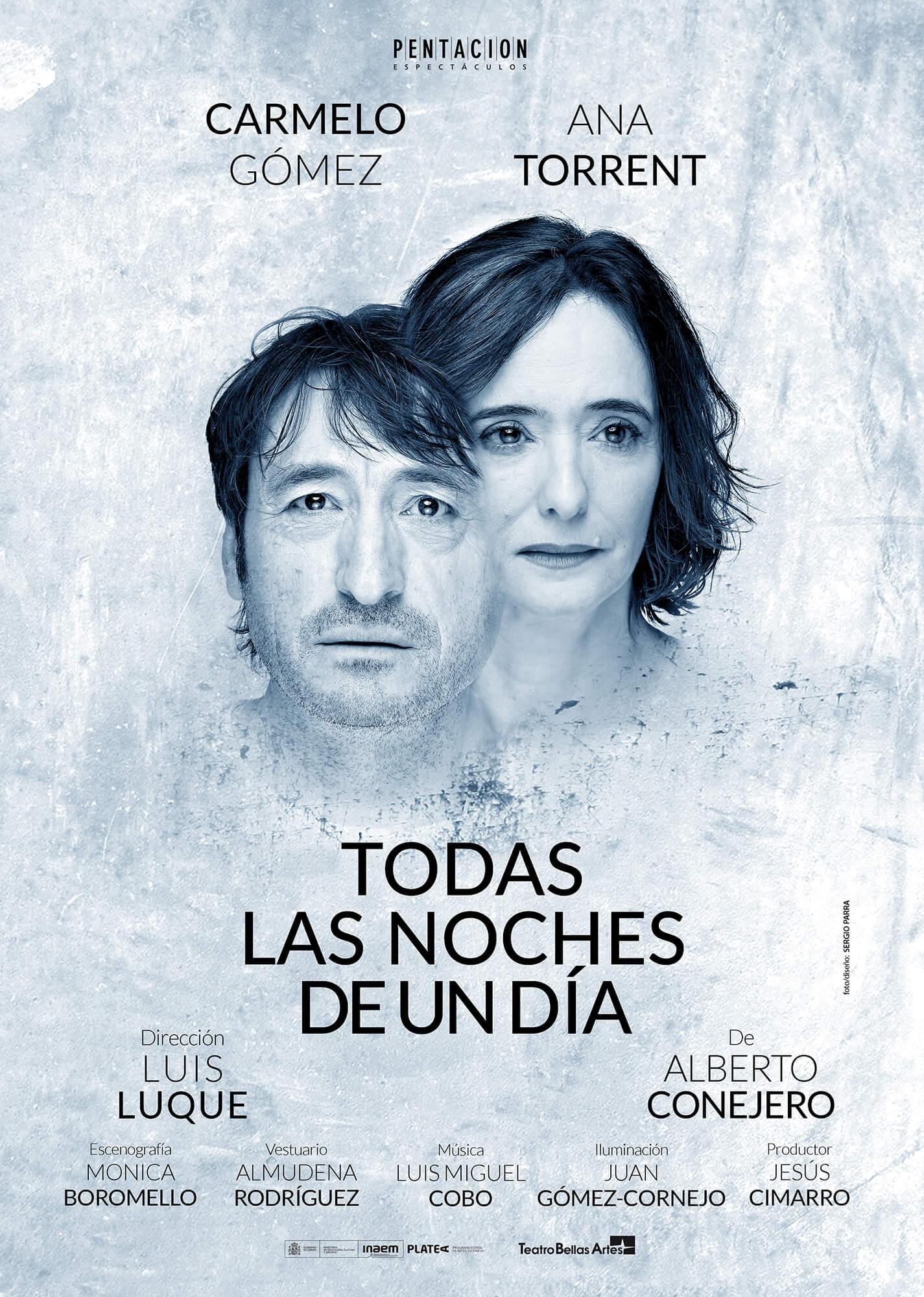Todas las noches de un día - Teatro - Carmelo Gómez